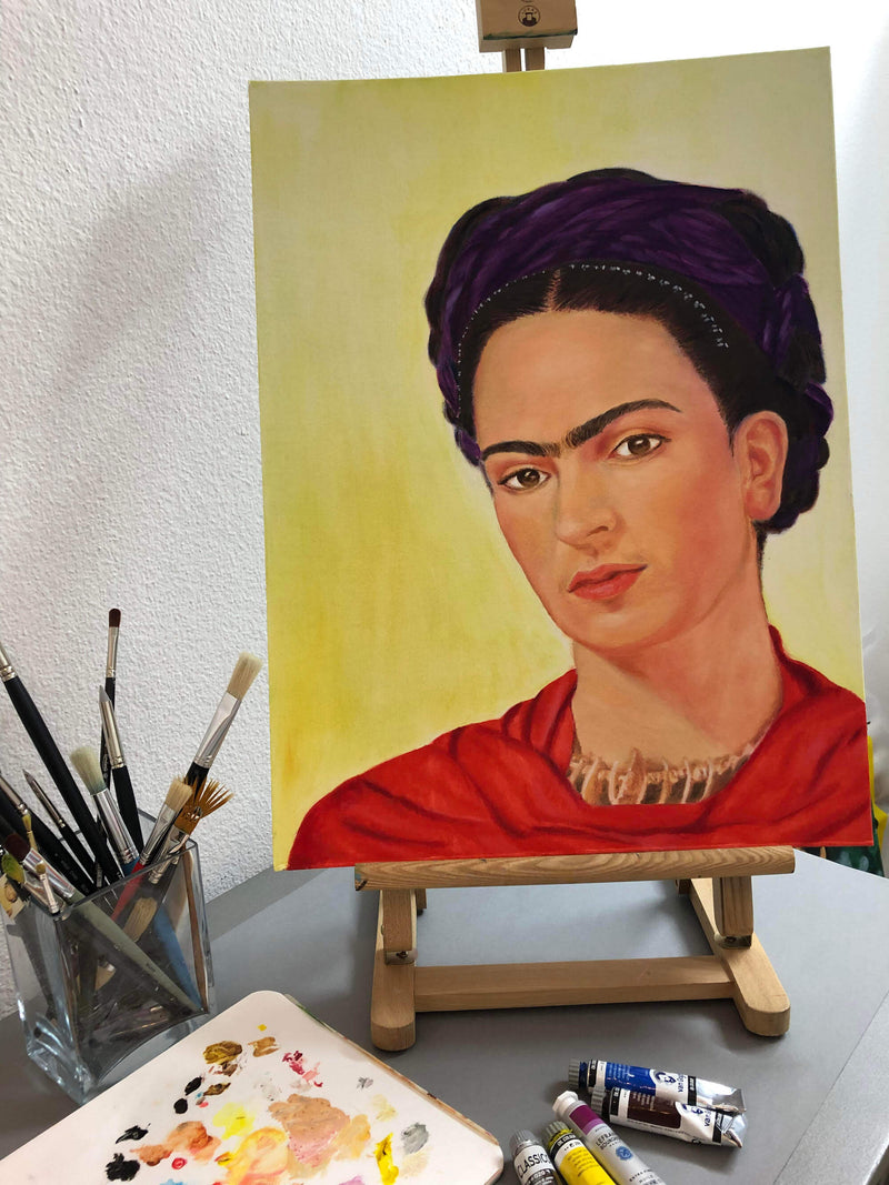 products/Frida-Kahlo-painting-progress.jpg