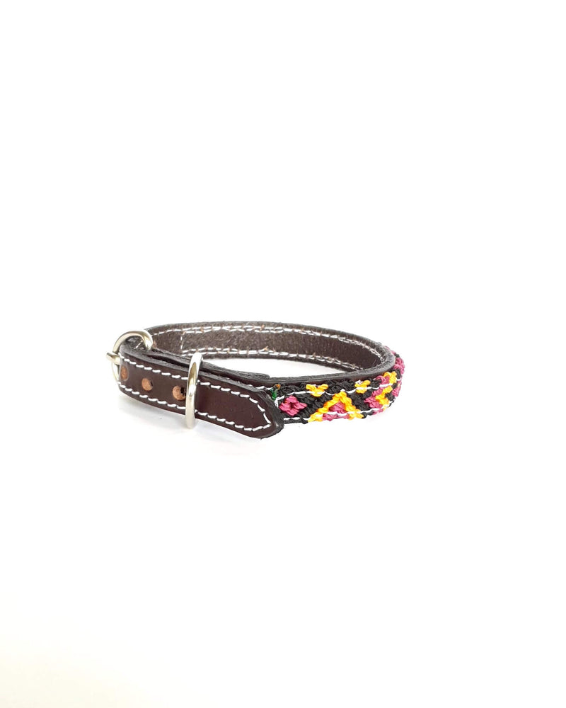 products/Leather-dog-collar-extra-small-burgundy-yellow-black2.jpg
