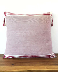 Lupita Vino Throw Pillow front view