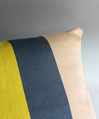 Taabal Bars Throw Pillow detail view