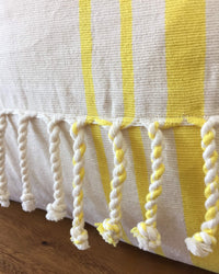 Taabal Cords Throw Pillow detail view