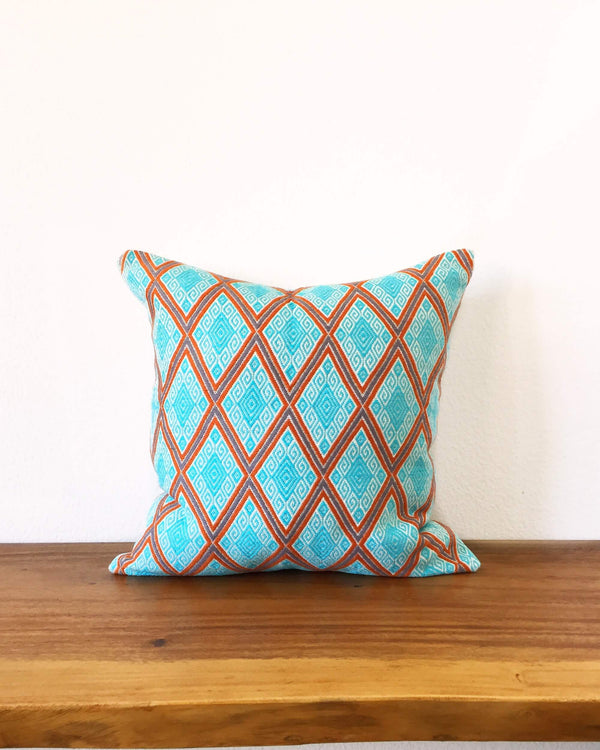 Taabal Zigzag Throw Pillow front view