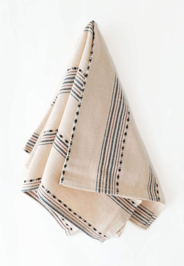 Cotton Handwoven Napkin Sand & Stripes