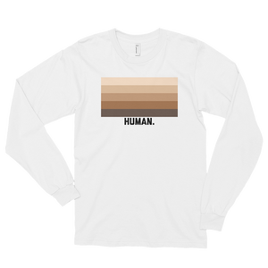 Human. Long Sleeve Tee (Unisex)