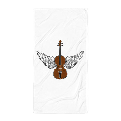Flying V Beach Towel