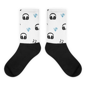 Azazel On The Beat Socks