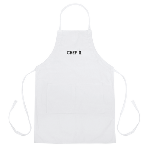 Chef G. Embroidered Apron