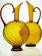 Venetian Style Pitcher Matthew Urban Blown Glass