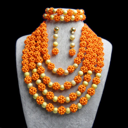 African Bridal Jewelry Set Christmas