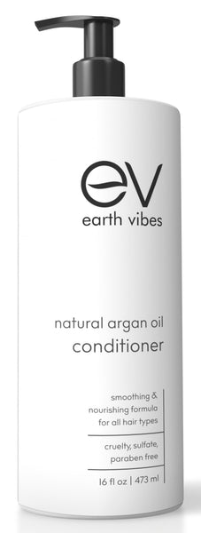 Earth Vibes All Natural Argan Oil Conditioner