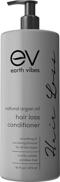 Earth Vibes Argan Oil Hair Loss Conditioner 16oz
