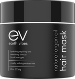 Earth Vibes Natural Argan Oil Hair Mask