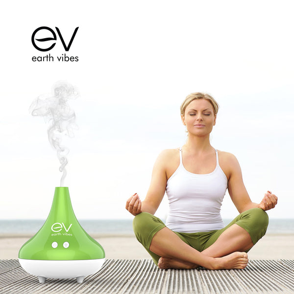 Earth Vibes 300mL Essential Oil Diffuser