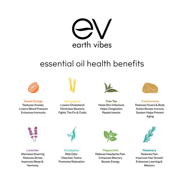 Earth Vibes Top 8 Essential Oil Set