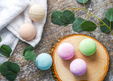 Earth Vibes 6 Piece All Natural Organic Bath Bomb Set - Essential Oil Infused
