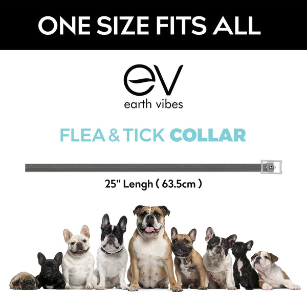 Earth Vibes Flea & Tick Collar For Dogs