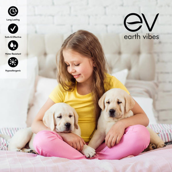 Earth Vibes Non-Toxic Flea & Tick Collar For Dogs (One