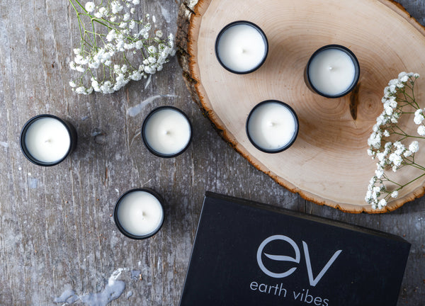 Earth Vibes 6 Piece Candle Set