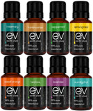 Earth Vibes Aromatherapy Top 8 Pure Essential Oils Set - 100% Pure & Natural