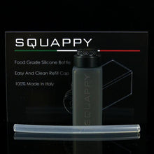 SQUAPPY, BLACK DELRIN CAP, 7 ML SQUARE CAPPY SILICONE BOTTLE KIT - I'M INFINITY MODS X SUNBOX