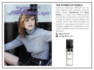 "Les Nouvelles, ""The Power of Pearls"", November 2015"