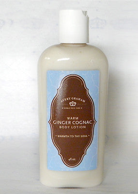Warm Ginger Cognac Body Lotion