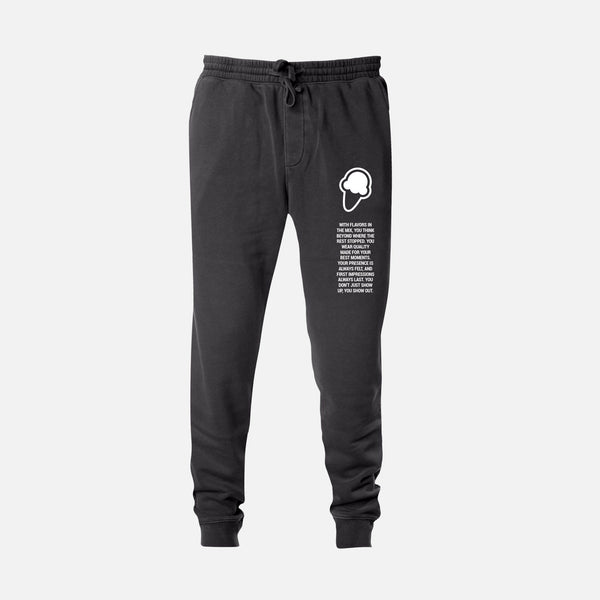 FLAVORS ESSENTIALS JOGGER - WASHED BLACK - FLAVORS