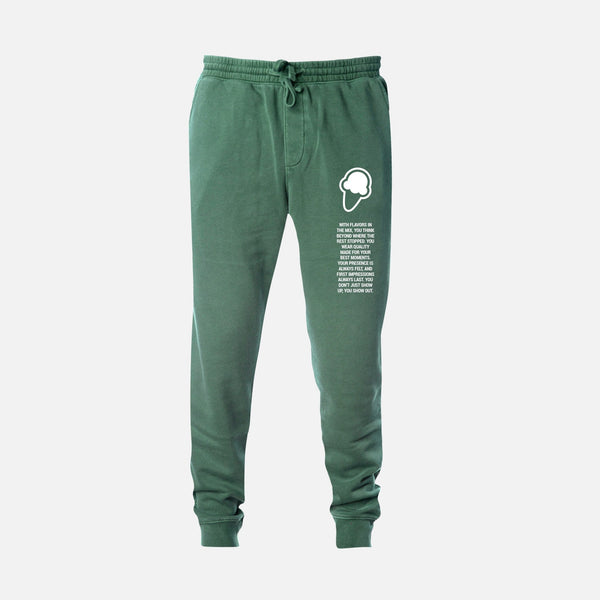 FLAVORS ESSENTIALS JOGGER - WASHED SAGE - FLAVORS