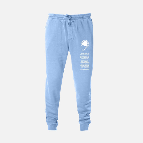 FLAVORS ESSENTIALS JOGGER - WASHED CAROLINA - FLAVORS