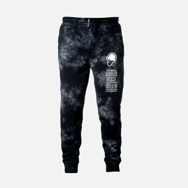 FLAVORS ESSENTIALS JOGGER - BLACK SMOKE - FLAVORS