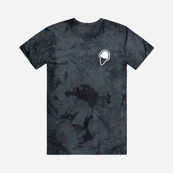 FLAVORS ESSENTIALS ICE CREAM TEE - BLACK SMOKE - FLAVORS