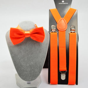 Set Suspenders Orange