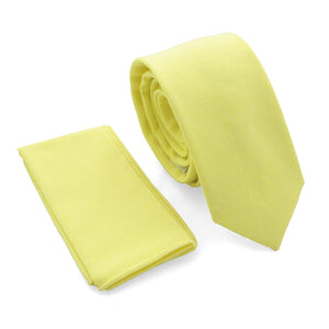 Set Solid Light Yellow