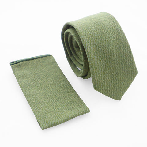 Set Solid Dark Green