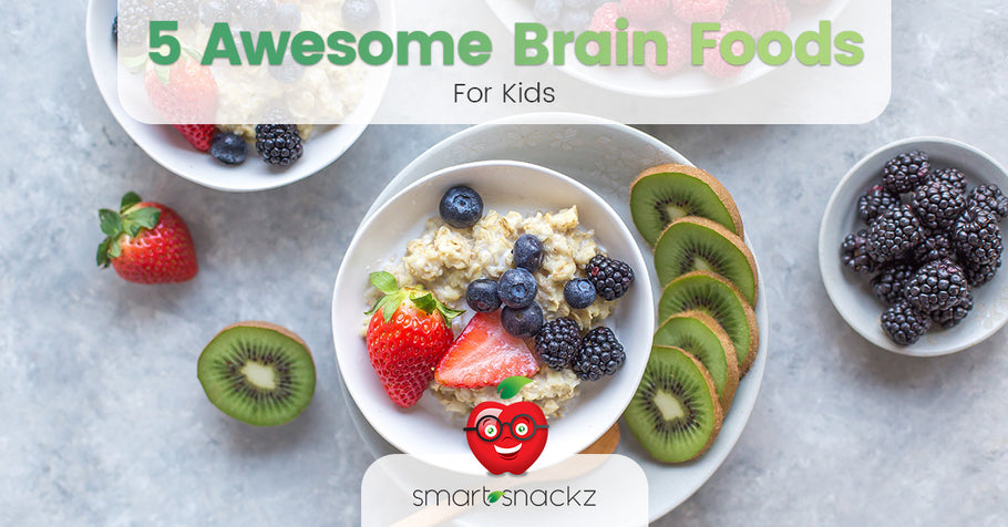 5 Awesome Brain Foods for Kids (and adults too)