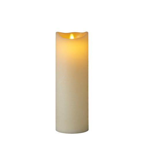 Sara Exclusive Led Candle Dia10 H30Cm Tealights & Holders