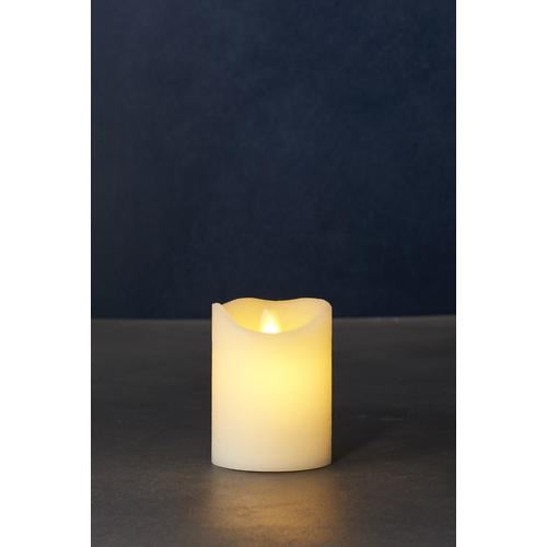 Sara Exclusive Led Candle Dia7.5 H10Cm Tealights & Holders