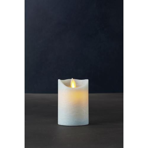 Sara Exclusive Led Candle - Sky Dia7.5 H10Cm Tealights & Holders