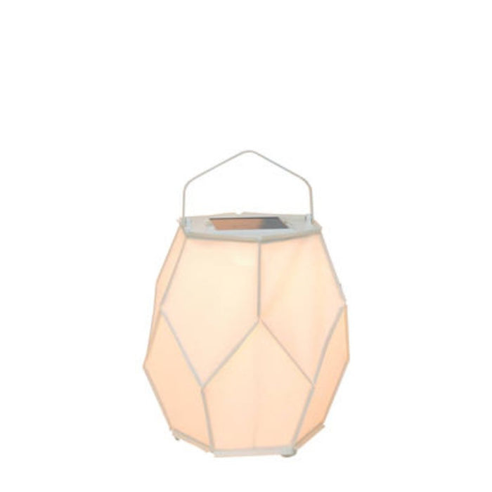 La Lampe Couture Small White Solar Light