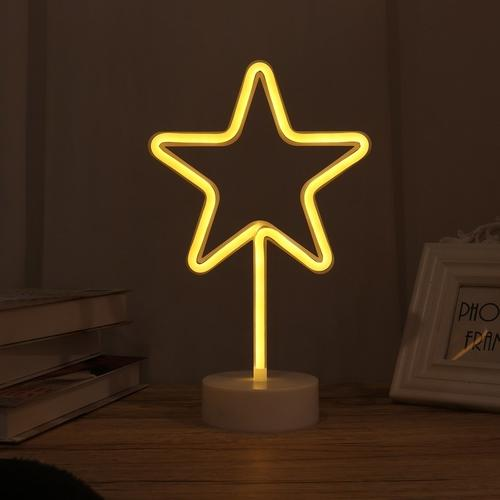 Neon Star Light 30Cm Decorative Lights