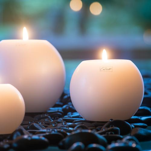 Moon Candle Dia 10Cm Tealights & Holders