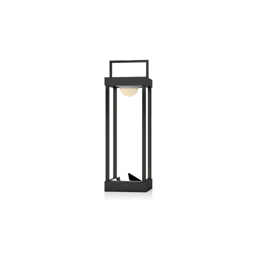 La Lampe Parc Large Black Solar Light