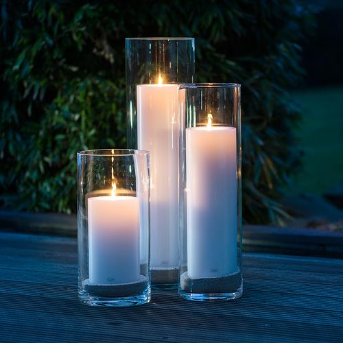 Maxilight Tealights 16 Pc Box & Candle Holders