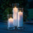 Maxilight Tealights 4 Pc Box & Candle Holders