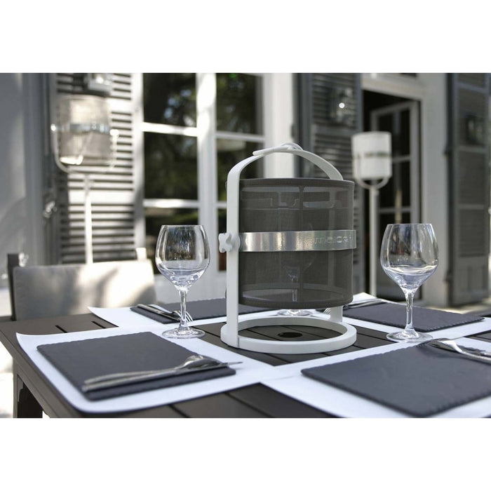 La Lampe Petite White Frame Solar Light