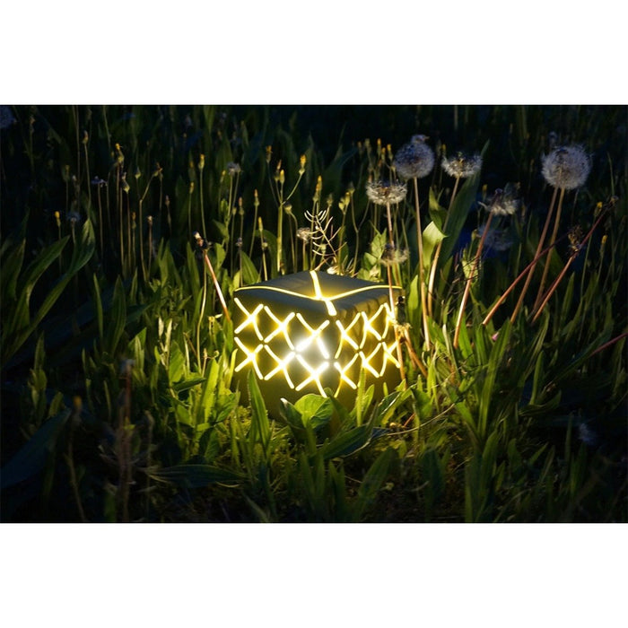 La Lampe Popup Charcoal Solar Light