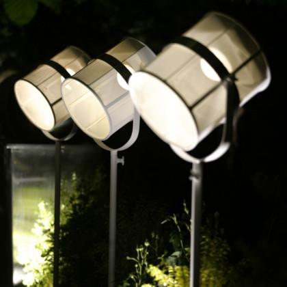 La Lampe Paris White Frame Solar Light