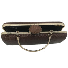 Faith Clutch (Havanna Brown Calf skin)