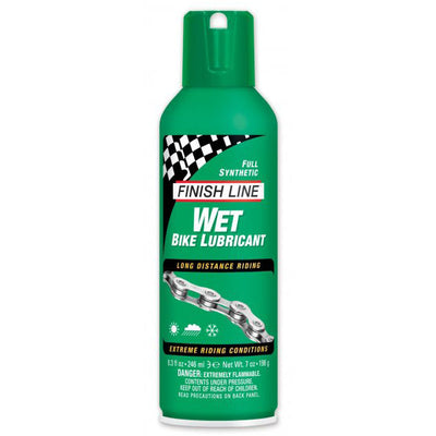 Lubricante Finish Line Húmedo 246 ml