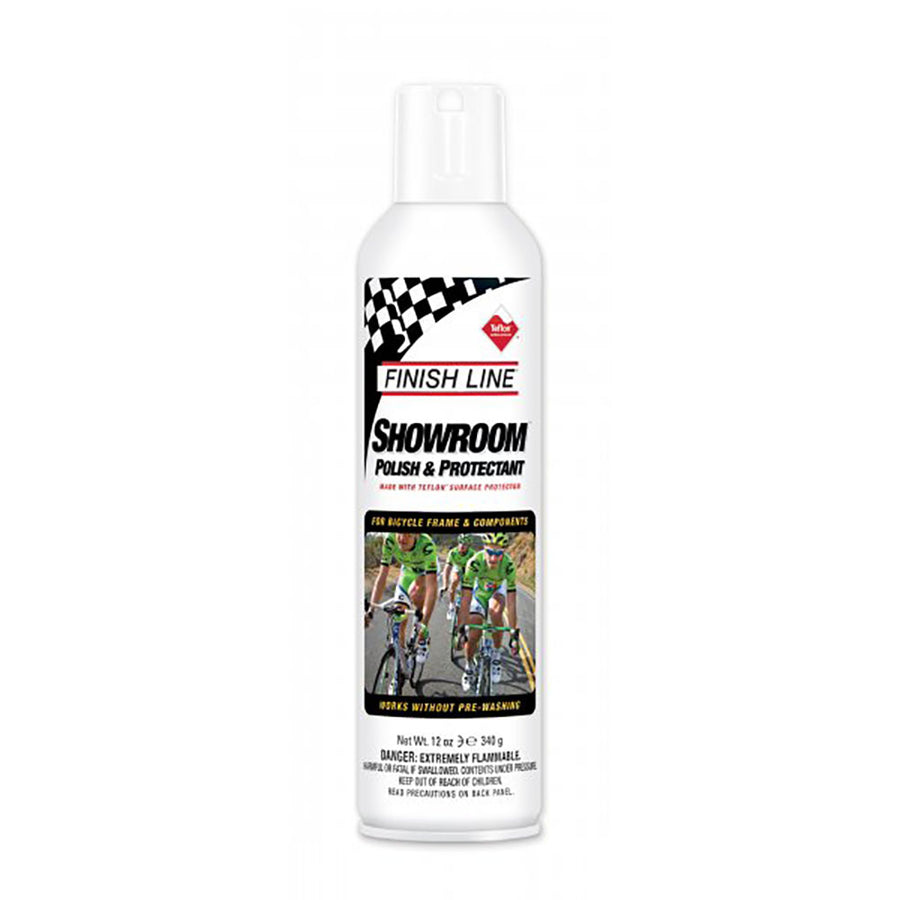 Limpiador Finish Line Showroom Pule y Protege 340 ml